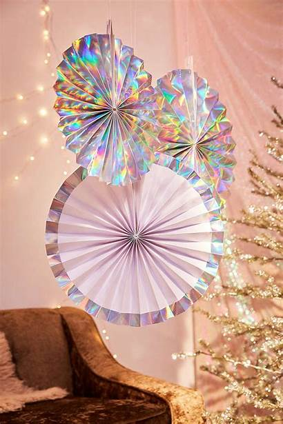 Decorations Holiday Decoration Holographic Iridescent Party Urban