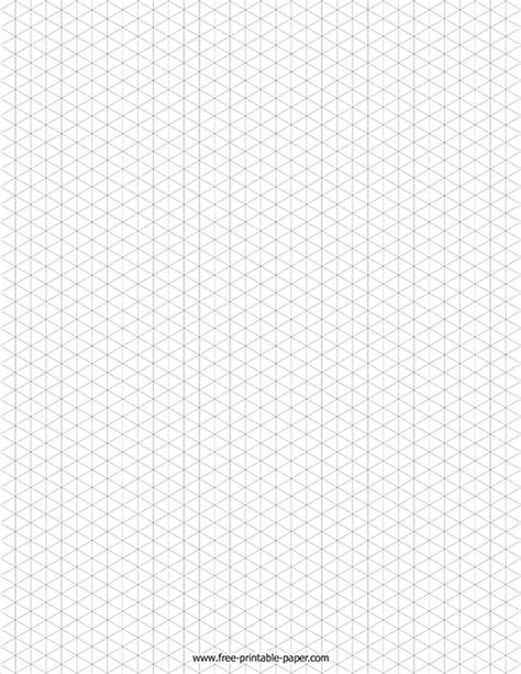 isometric graph paper  printable paper