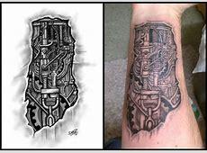 Tatouage Ecriture Gothique Avant Bras Tattoo Art