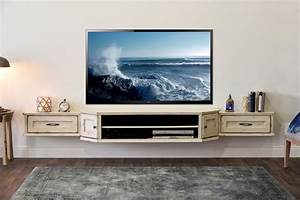 Furniture comfy floating tv stand for home