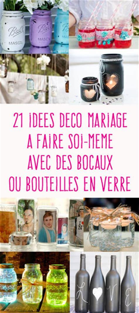 21 Idées De Déco De Mariage Avec Des Pots En Verre De