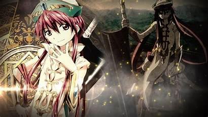 Magi Ren Kouha Magic Labyrinth Zerochan Anime