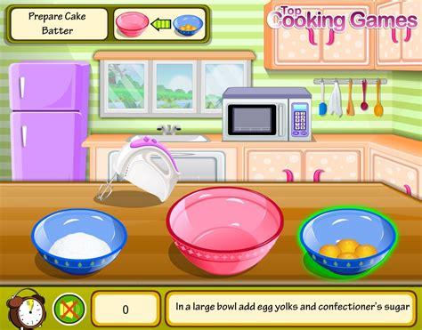 jeu de cuisine gateau jeu cuisine un gâteau au chocolat gratuit en ligne
