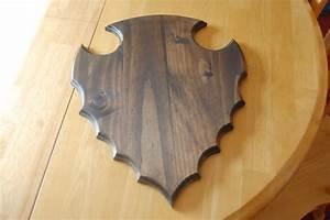 4 best images of printable deer plaque template deer for Arrowhead plaque template