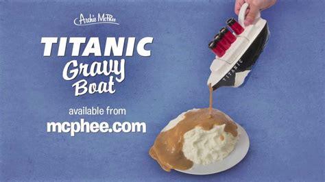 Gravy Boat Titanic by Titanic Gravy Boat Archie Mcphee Youtube