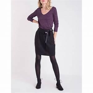 Jupe Crayon Noir : bonobo jeans jupe crayon noir brandalley ~ Preciouscoupons.com Idées de Décoration