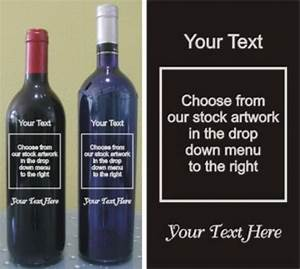personalized engraved wine bottles deep etched custom With design your own wine bottle
