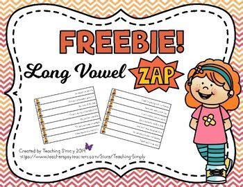 zap game  long vowel sentences  images
