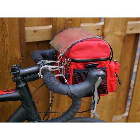 handlebar bag arkel bike bags bicycle waterproof