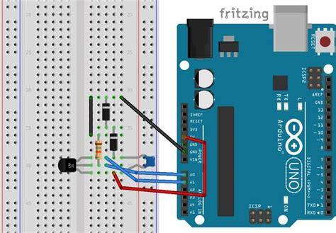 comment prendre de l essence avec une carte bancaire mesurer une temp 233 rature avec un capteur lm35 et une carte arduino genuino carnet du maker