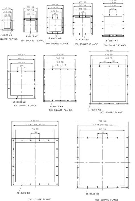 Square Flange Manufacturers in India / ASME B16.5 / B16.47
