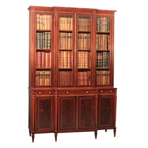 Furniture Sale Bookcase by Breakfront Bookcase Cabinet To Order Bookcase