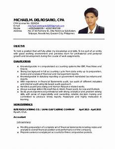 Sample Resume For Working Students In The Philippines
