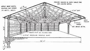 Steel Pole Building Open Diagram