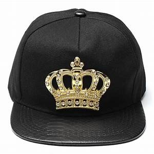 Women Snapback Hats Crown KING Baseball Caps Men ...