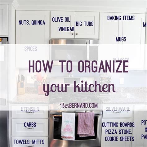 kitchen organization and layout how to organize your kitchen home organization 5434