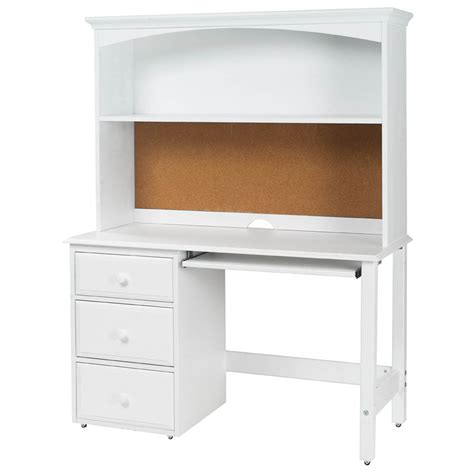 white office desk with hutch student desk hutch student desk pinterest kid