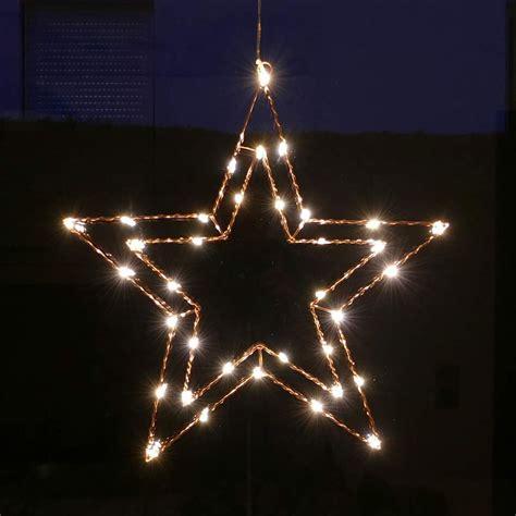 weihnachtsdeko fenster elektrisch drahtstern f 252 r fenster zur weihnachtsbeleuchtung