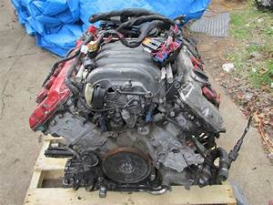 For Sale  2004 Audi S4 Engine Compete With Harness And Ecu