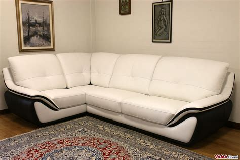 Contemporary Leather Corner Sofas by Contemporary White Leather Sofa Large And High Back
