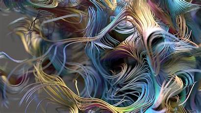 Fractal 3d Psychedelic Colorful Wallpapers Graphic 4k