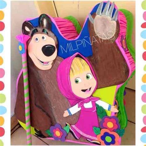 resultado de imagen para pi 241 ata de masha cumple de masha mini pinatas birthday y lunch