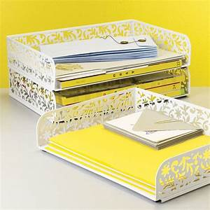 Decorative letter tray for Decorative stacking letter trays