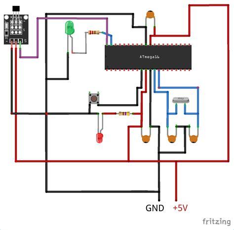 Circuit Diagram For Interfacing Hall Sensor With Avr