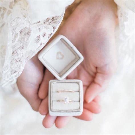 velvet ring box mrs box wedding rings box french