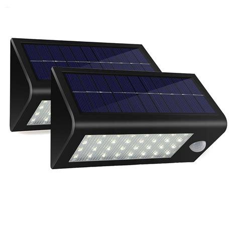 solar powered door light 2pack lot 32 led 550 lumens ultra bright outdoor solar