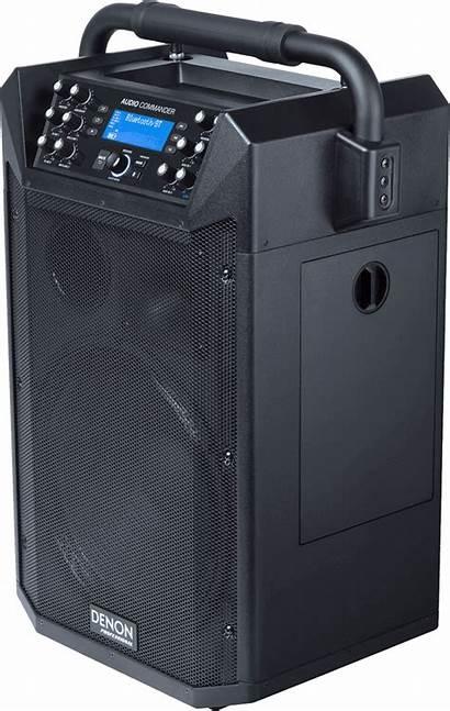 Denon Audio Commander Professional Dj Portable Stars
