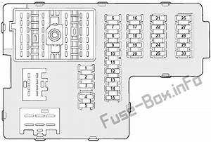 Fuse Box Diagram Mercury Mountaineer  2002