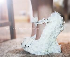 shoe wedding petal wedge wedding shoes bridal shoes made