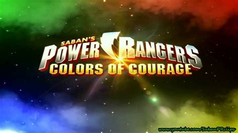 power colors power rangers colors of courage promo 1