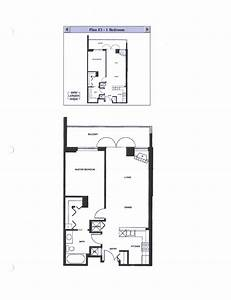 Discovery floor plan e1 1 bedroom for 1 bedroom floor plan