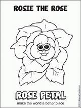 Coloring Daisy Scouts Scout Flower Popular sketch template