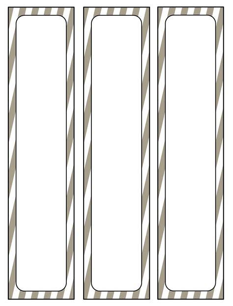 binder spine template beepmunk