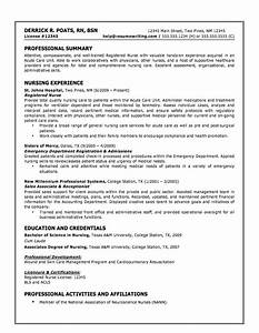 what your resume should look like With how to do a nursing resume