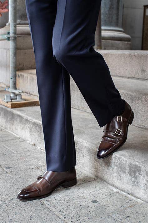 review  paul evans burton double monk strap shoe