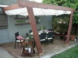 Gardinen weiss terrassenuberdachung selber bauen markise for Terrassenüberdachung selber bauen garten