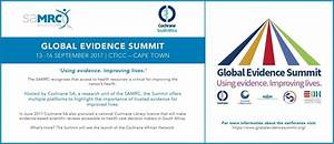 Global Evidence Summit | Faculty of Health Sciences