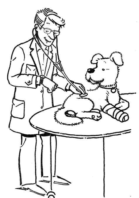 coloring pages  veterinarian top coloring pages