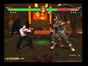 Mortal Kombat: Armageddon - Devil Jin VS Onaga - YouTube