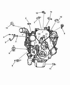 2011 Jeep Patriot Sensor - Engine
