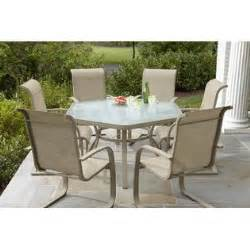 aluminum dining table jaclyn smith outdoor design by kmart