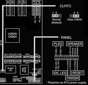 Asus Motherboard Panel Jumper Settings
