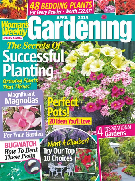 plant magazines free woman s weekly gardening april 2015 187 pdf magazines download free pdf magazines for your device