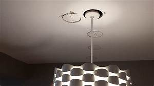 Installed A New Lighting Fixture  Back Feeding On The