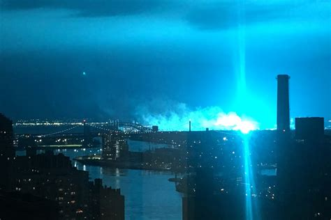 Nypd Cops Couldn't Hide Their Shock At Transformer Explosion