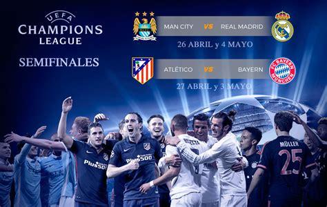 Sorteo Champions: Manchester City-Real Madrid y Atlético ...